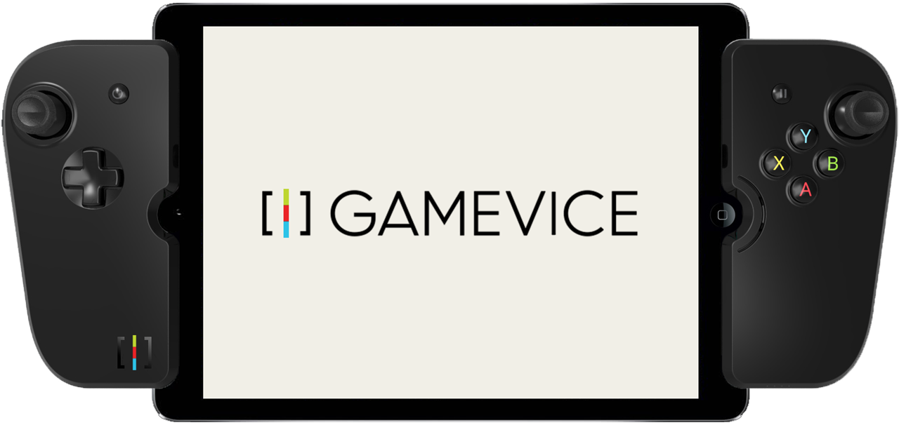 The Gamevice for 9.7inch iPads