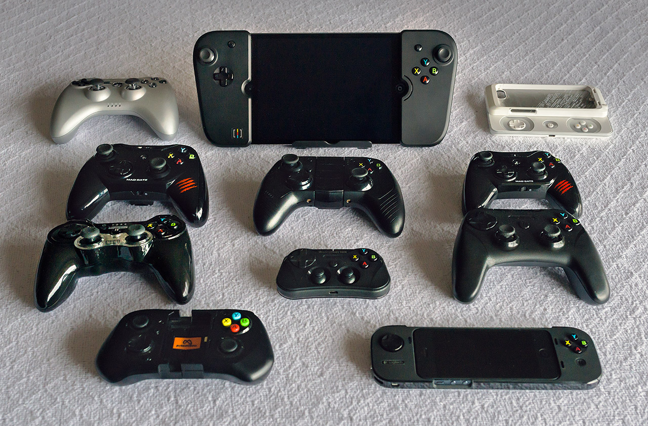 The Gamevice VS the Other MFi Controllers